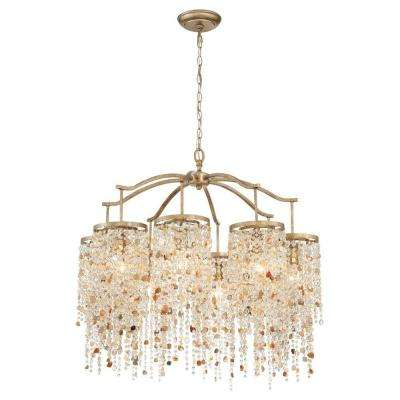 Savannah 8-Light Bronze Chandelier