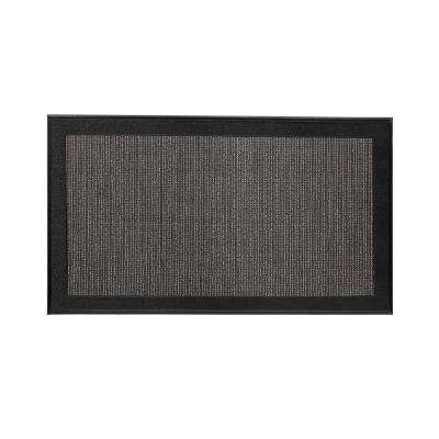 Resilience Black 20 In. X 34 In. Poly Urethane Cushion Mat