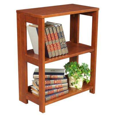 Flip Flop Cherry 28 in. Tall Folding Bookcase