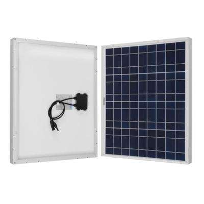 50-Watt Polycrystalline Solar Panel for RV's, Boats and 12-Volt Solar System, Back-Up System