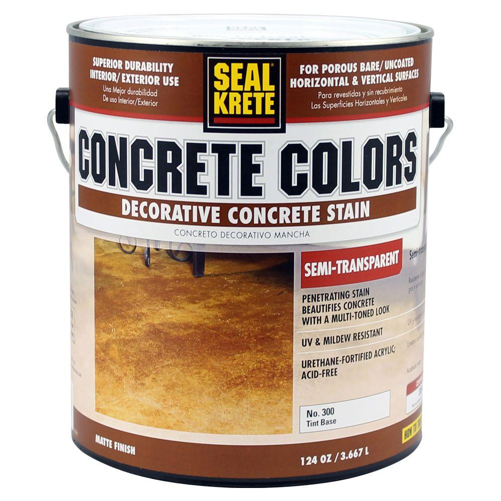 Seal-Krete Concrete Colors 1-Gal. Semi-Transparent Tint Base Stain-DISCONTINUED