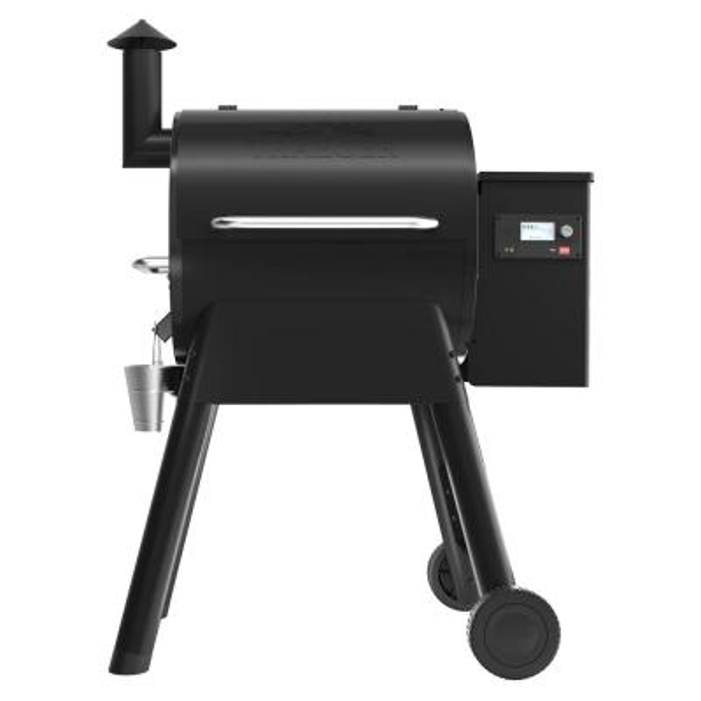 Traeger Pellet Grills TFB57GLE Pro D2 Pellet Grill, 572-Sq. In., 18-Lb. Hopper, Black - Quantity 1
