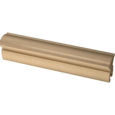 Classic Curve 1 in. to 4 in. (25 mm to 102 mm) Champagne Bronze Adjustable Drawer Pull (5-Pack)