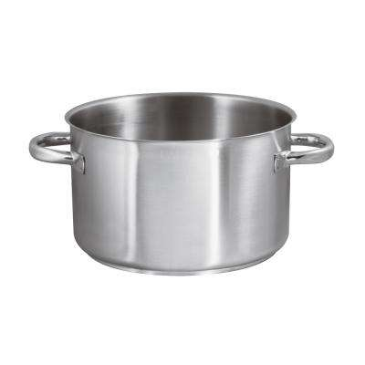 16-1/4 Qt. Induction Stainless Steel Sauce Pot, No Lid