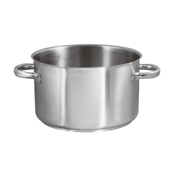 Paderno World Cuisine 16 14 Qt Induction Stainless Steel Sauce Pot