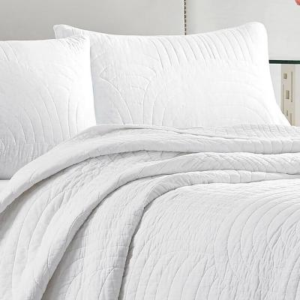 Palm Desert Cotton Quilt Set