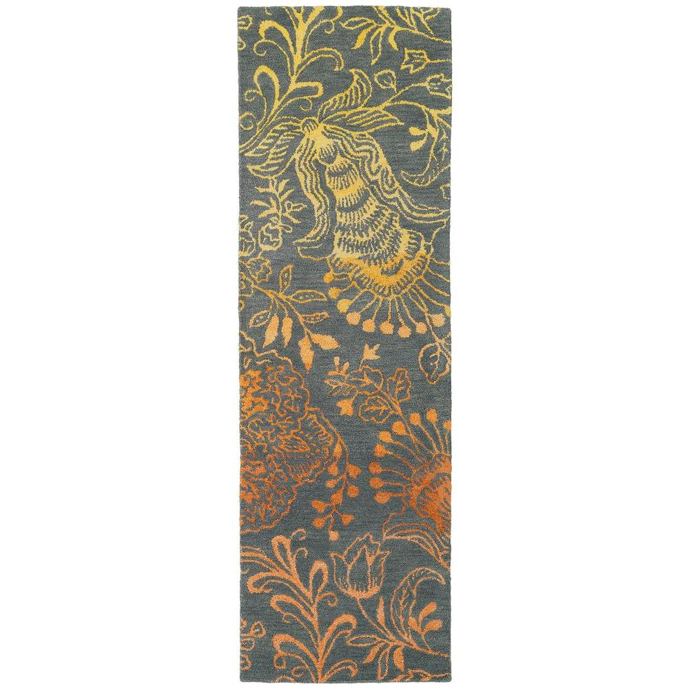Kaleen Divine Fire 2 Ft 6 In X 8 Ft Runner Div02 98 2 6 X 8 The Home Depot