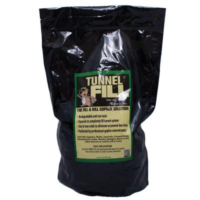 6 lb. fills 200 lin. ft Gopher Control Expanding Tunnel Fill Bag
