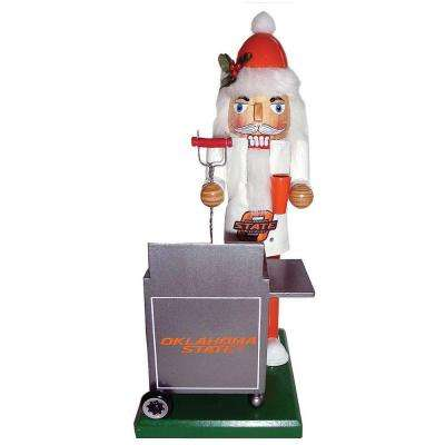 12 in. Oklahoma State Tailgating Nutcracker