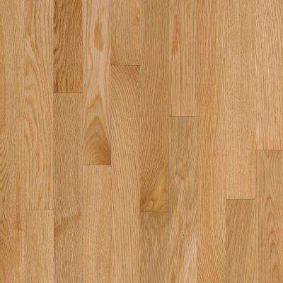 Natural Reflections Oak Natural 5/16 in. Thick x 2-1/4 in. Wide x Random Length Solid Hardwood Flooring(40 sq. ft./case)