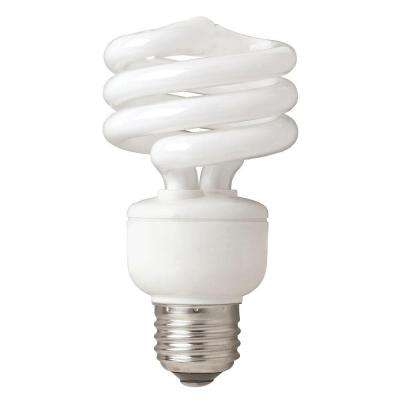 75W Equivalent Bright White  Spiral CFL Light Bulb (4-Pack)