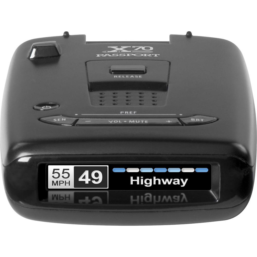 escort passport x70 radar detector 0100018 2 the home depot. Black Bedroom Furniture Sets. Home Design Ideas