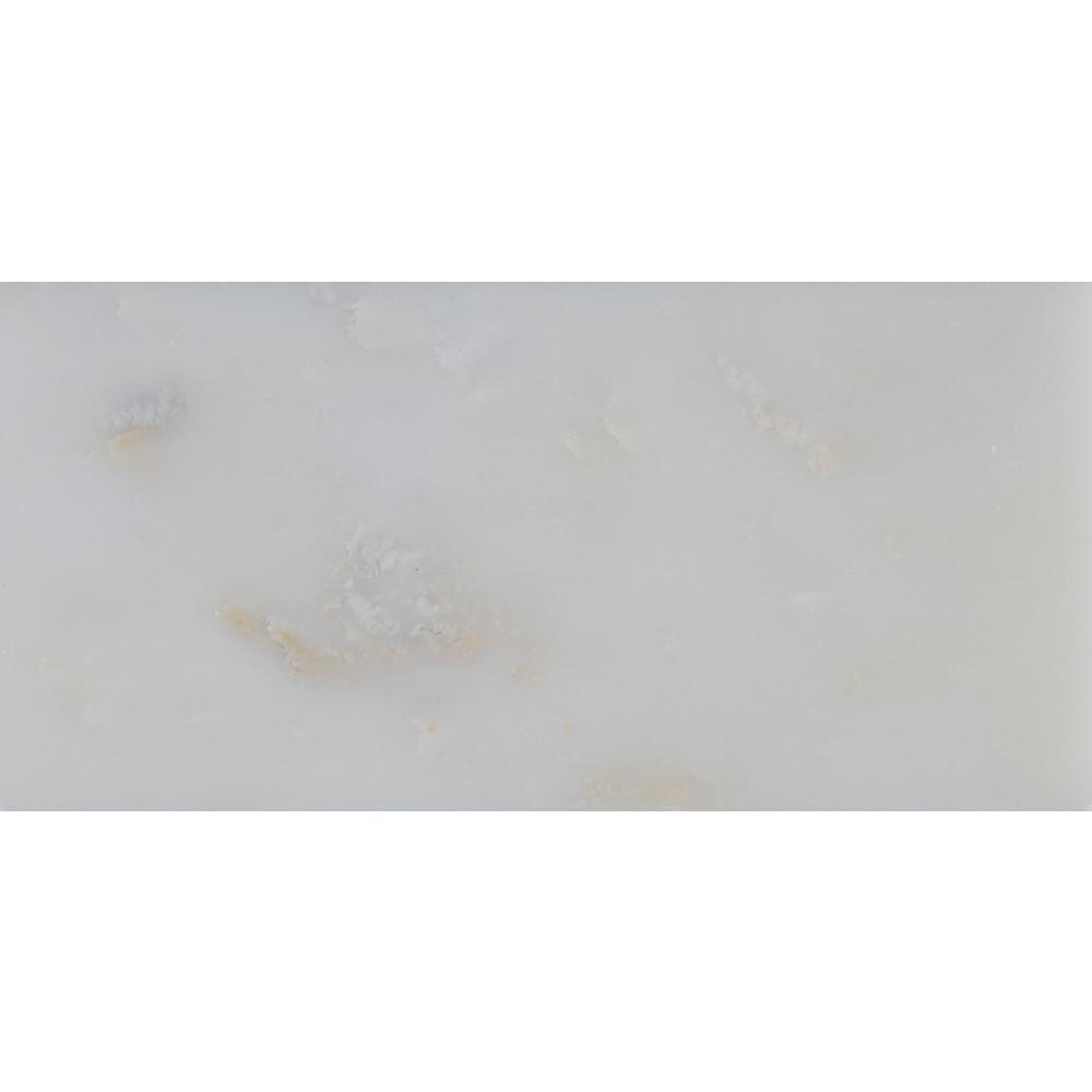 MS International Greecian White 3 in. x 6 in. Polished Marble Floor and Wall Tile (1 sq. ft. / case)