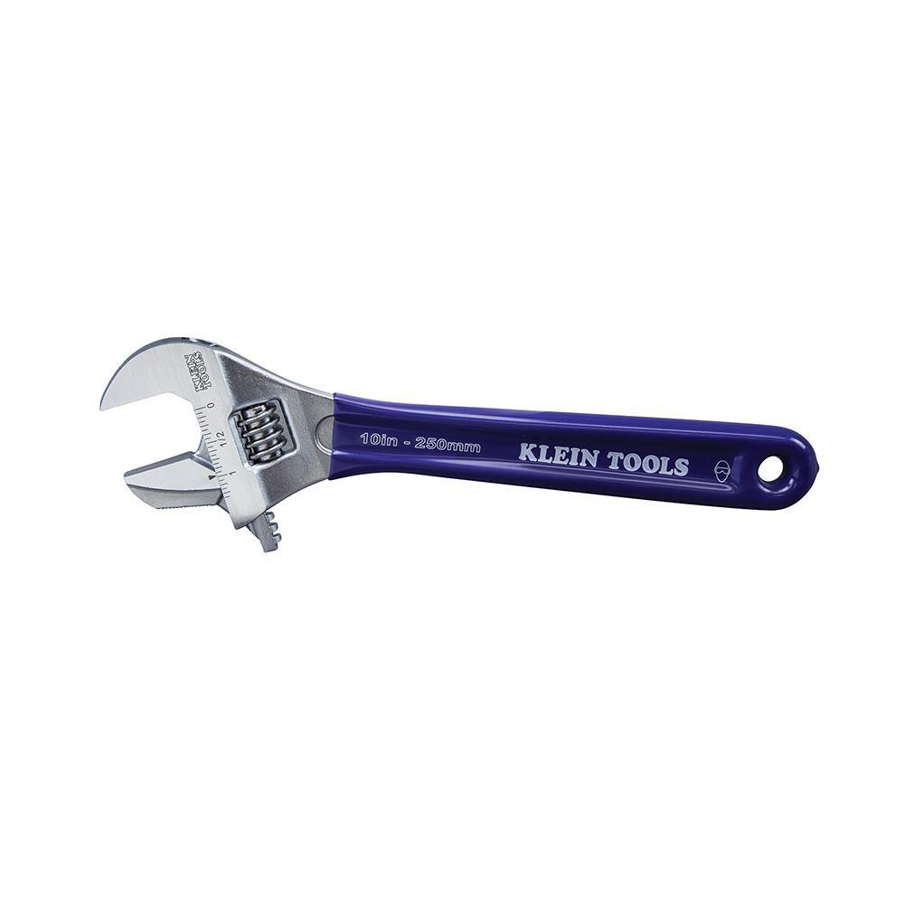 Klein Tools Reversible Jaw/Adjustable Pipe Wrench 10 in.  sc 1 st  Home Depot & Klein Tools Reversible Jaw/Adjustable Pipe Wrench 10 in.-D86930 ...