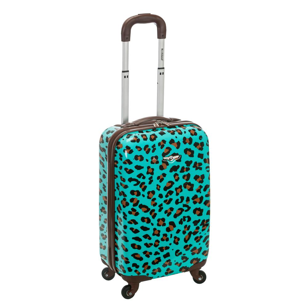 Rockland 20 in. Polycarbonate Carry-On, Blueleopard was $160.0 now $56.0 (65.0% off)