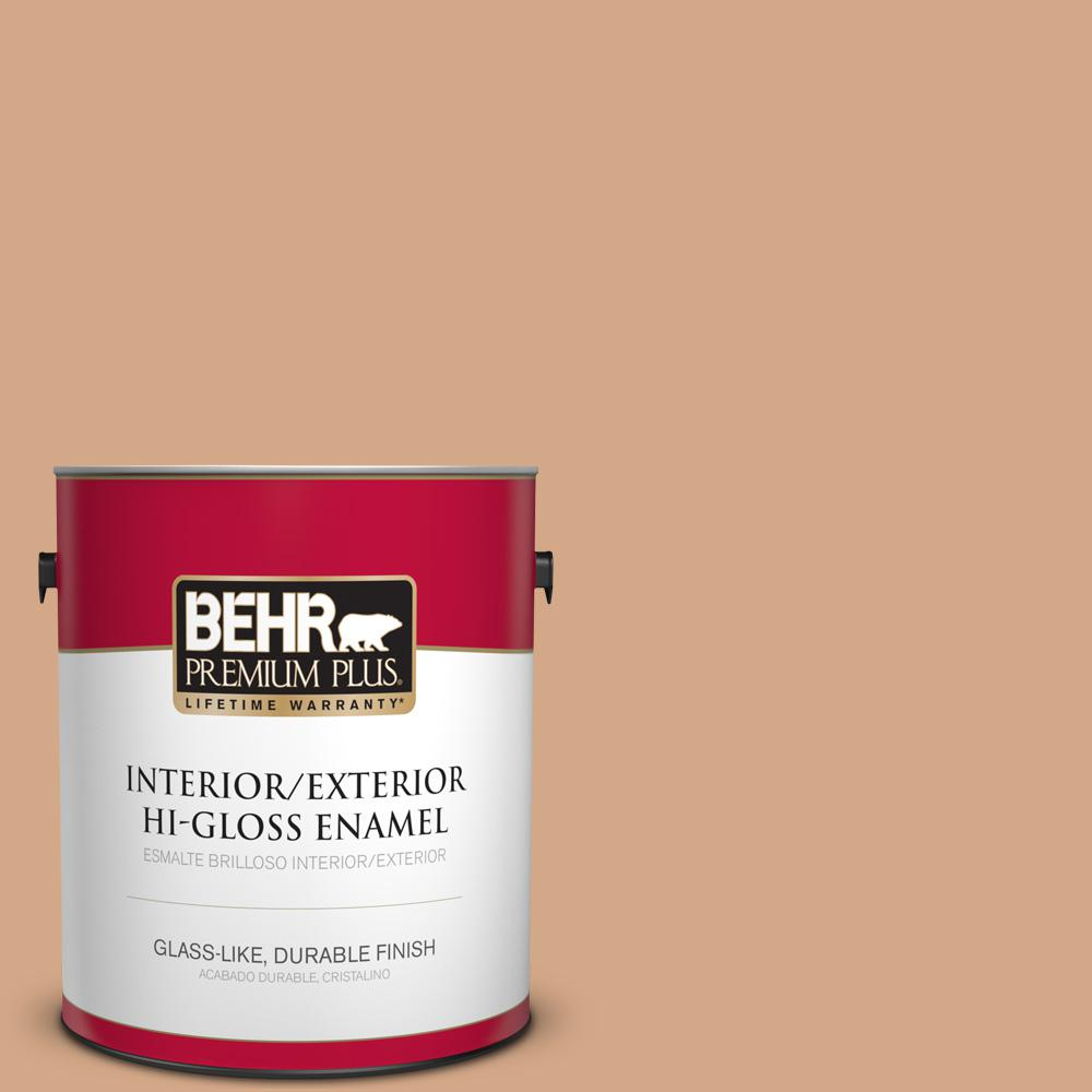 1 gal. #PPU3-11 Autumn Air Hi-Gloss Enamel Interior/Exterior Paint
