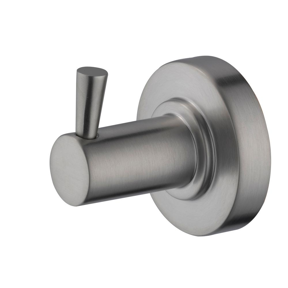 Schon Contemporary Robe Hook in Brushed Nickel