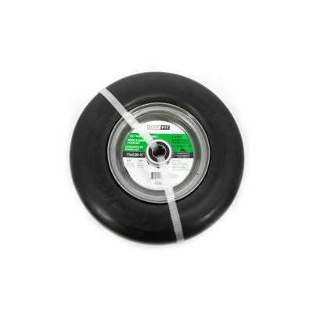 11 in. x 4.00 in. x 5 in. Flat Free Wheel Assembly