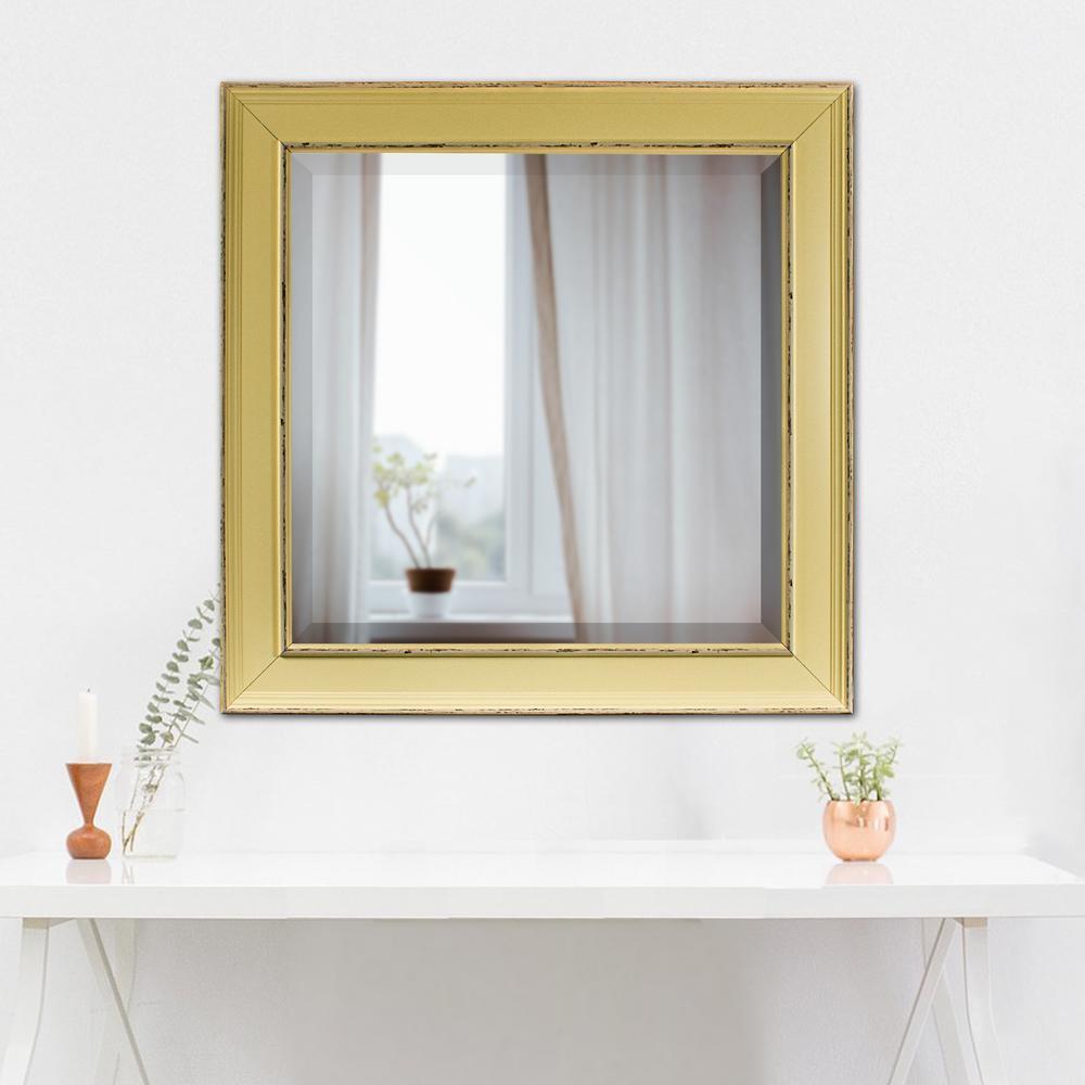 Camden Square Cream Vanity Mirror