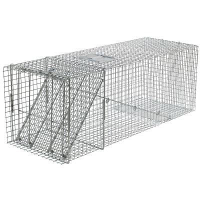X-Large 1-Door Professional Live Animal Cage Trap for Beaver, Racoon, Opossum, and Groundhog