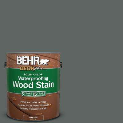 1 gal. #BXC-41 Charcoal Solid Color Waterproofing Wood Stain