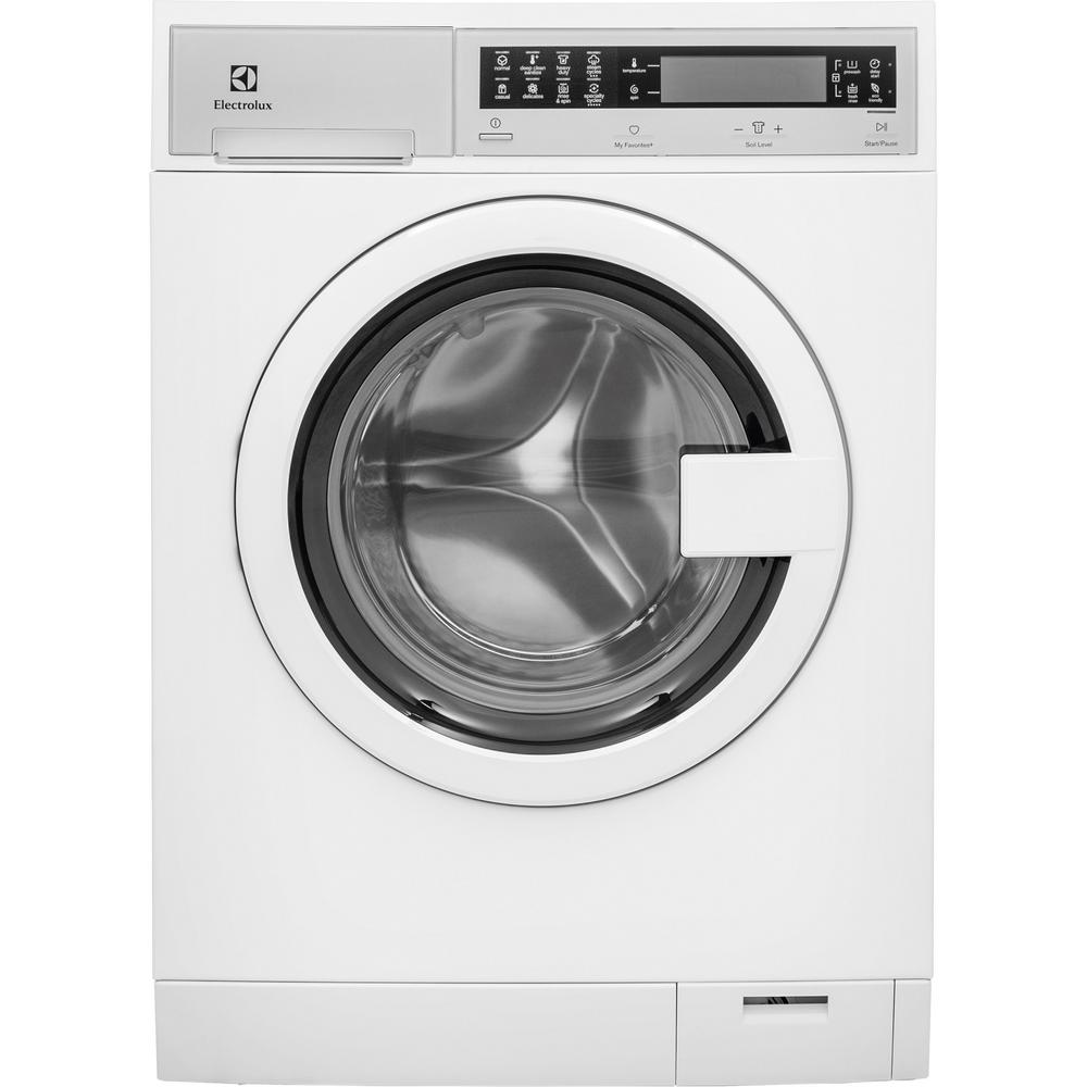 IQ-Touch 24 in. 4.0 cu. ft. Electric Dryer in White