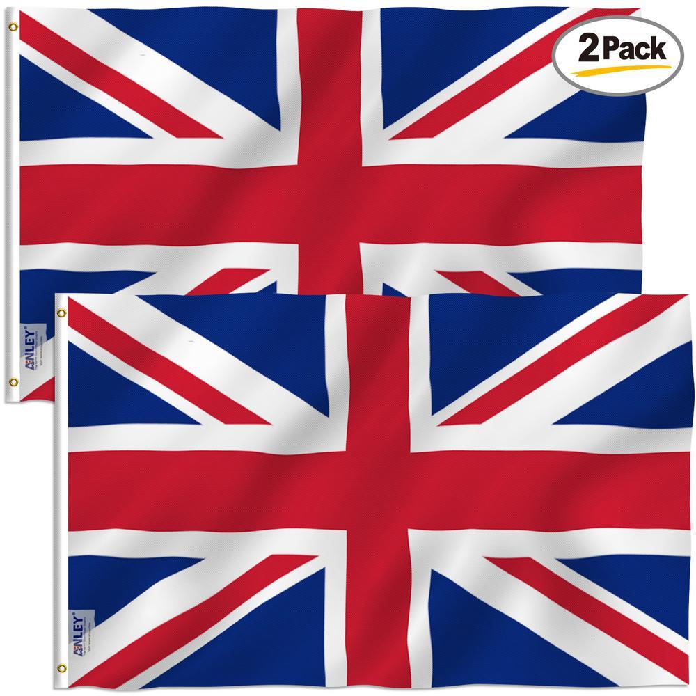 Anley 3 Ft X 5 Ft Polyester United Kingdom Uk Flag 2