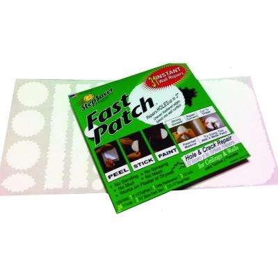 5-3/4 in. x 6 in. Fast Patch Self Adhesive Smooth Wall Repair Patch Kit with 30 Small Patches (100-Pack)