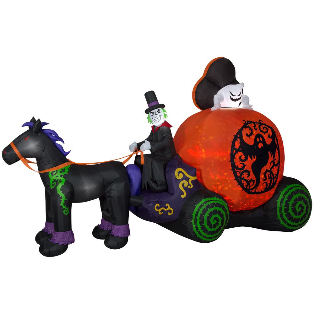 halloween inflatables - outdoor halloween decorations - the home depot