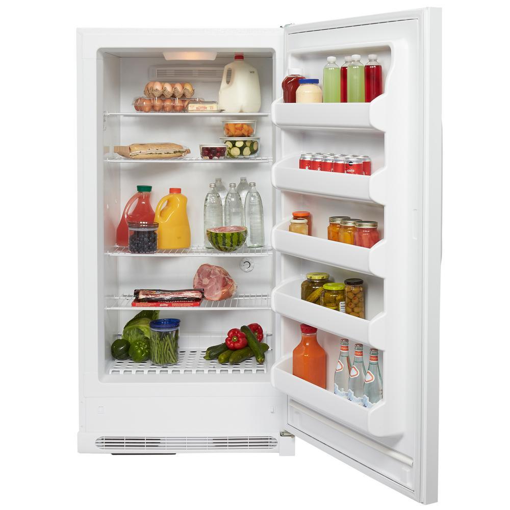 Frigidaire 16.7 cu. ft. Freezerless Refrigerator in White on