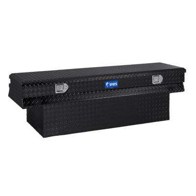 60 in. Aluminum Black Chest Box with Notched