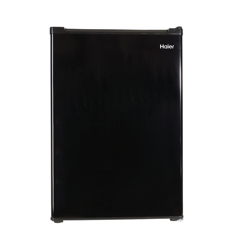 Haier 3.3 cu. ft. Mini Fridge in Black on