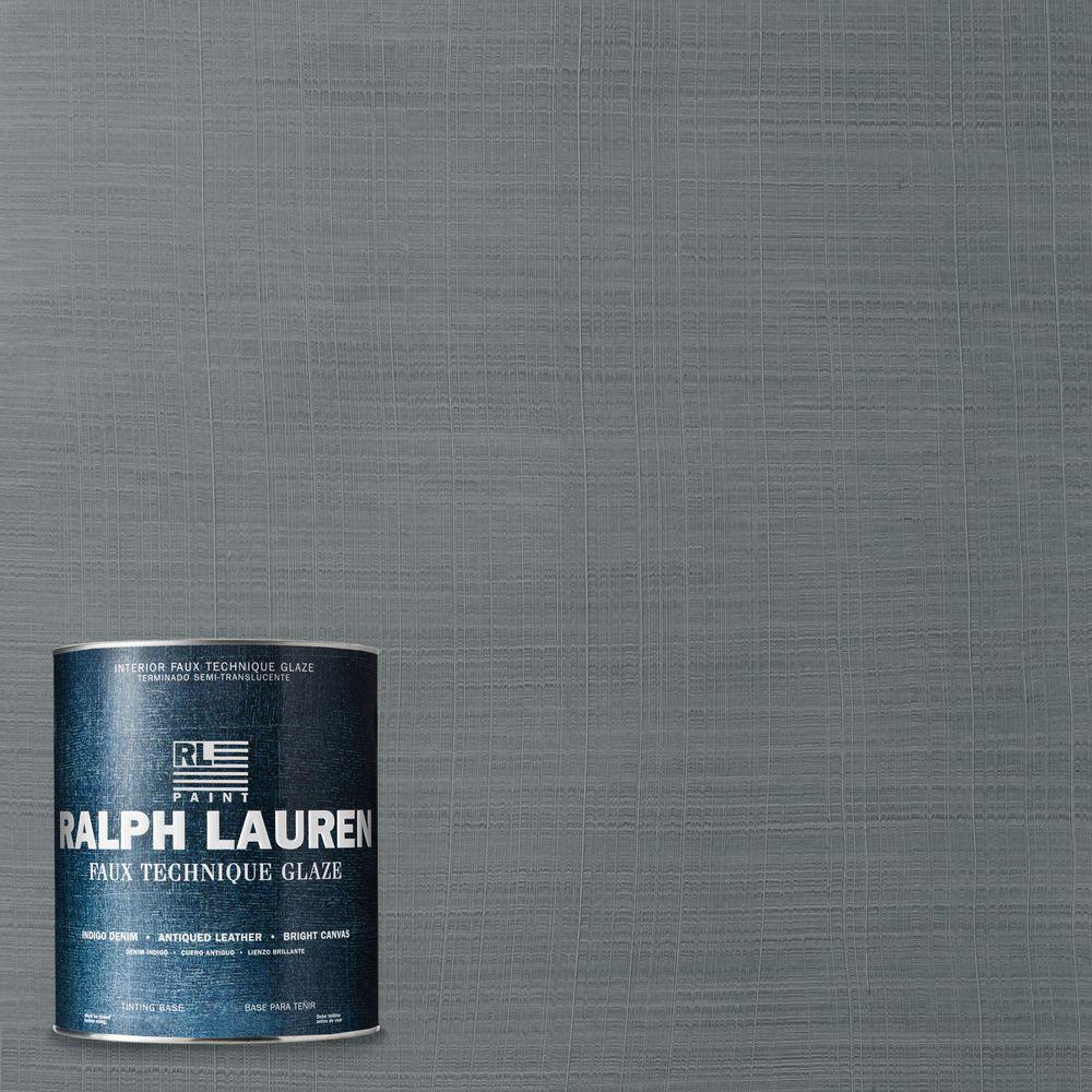 Ralph Lauren 1-qt. Blue Ash Indigo Denim Specialty Finish Interior Paint