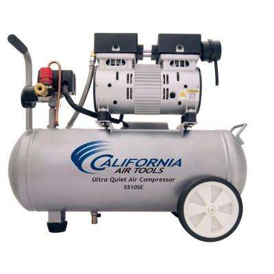 5.5 Gal. 1.0 HP Ultra Quiet and Oil-Free Air Compressor