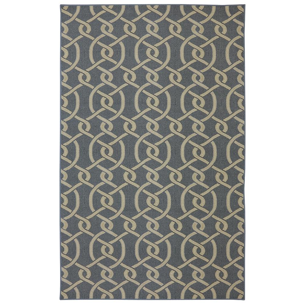 Mohawk Home Morrison Blue 8 Ft X 10 Ft Area Rug 002549 The Home