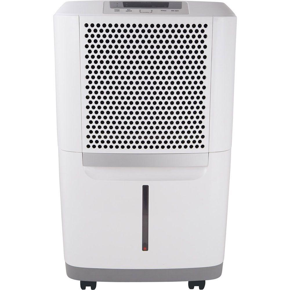 Frigidaire 50-Pint Dehumidifier, Whites