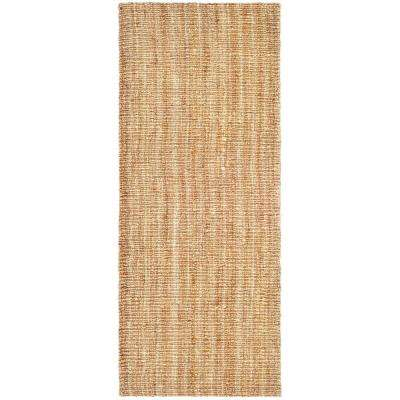 Natural Fiber Beige 3 ft. x 6 ft. Runner Rug