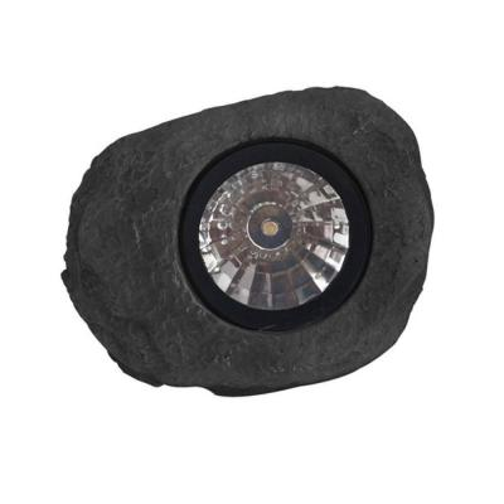 Solar Hand-Painted Rock LED Spot Light (3-Pack)