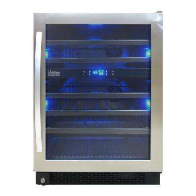 Designer Series 46-Bottle Dual-Zone Wine Cooler
