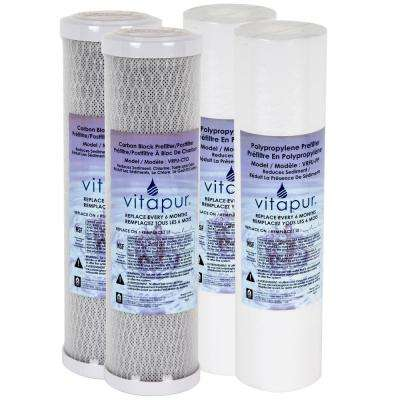 Under-sink Replacement Universal Water Filter Kit Fits VFK-2U