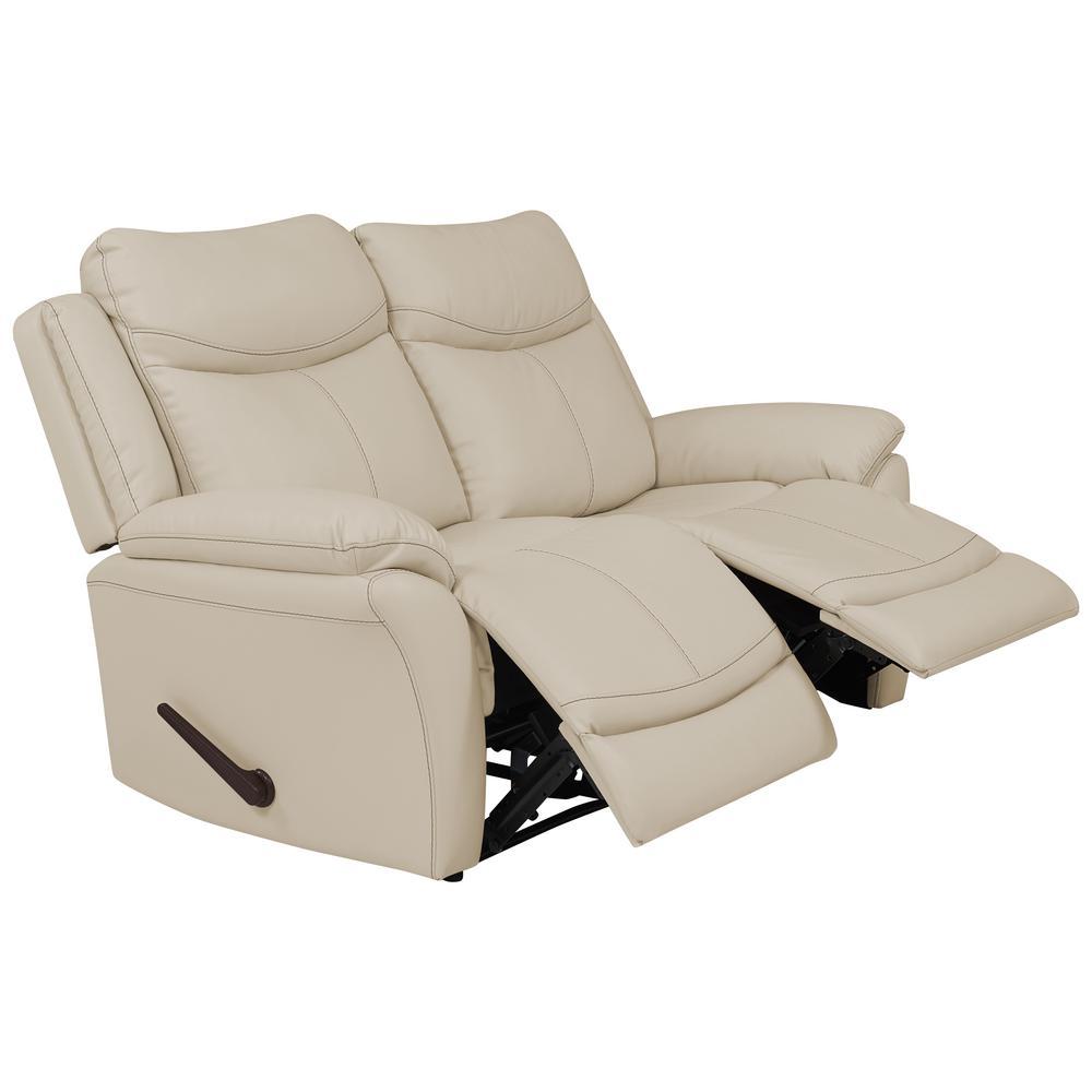 Prolounger Off White Almond Tuff Stuff Fabric 2 Seat Wall