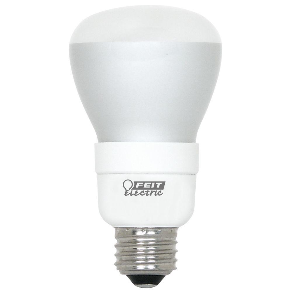 EcoSmart 50-Watt Equivalent Soft White (2700K) R20 Dimmable CFL Light Bulb