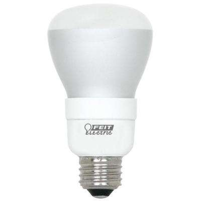 50-Watt Equivalent Soft White (2700K) R20 Dimmable CFL Light Bulb