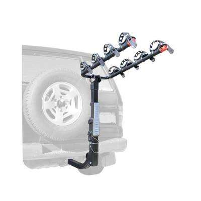 Premier 4 Bike Sparetire Rear Rack Mount Carrier for SUVs and Jeeps