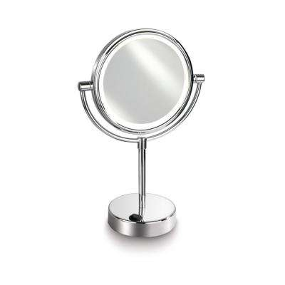 Empire 1X/ 5X Magnification 7 in. Lighted Makeup Vanity