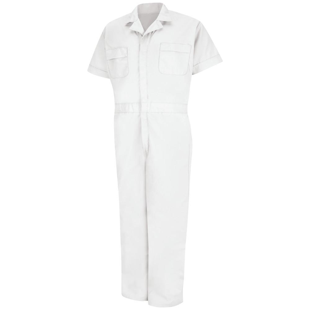 Red Kap Uniforms Men's Size 3XL White Speedsuit