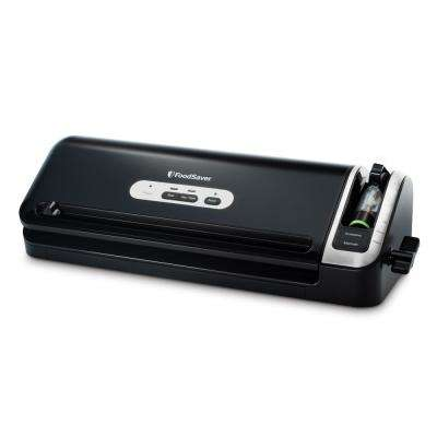 2-in-1 Manual Vacuum Sealer System w/Starter Kit