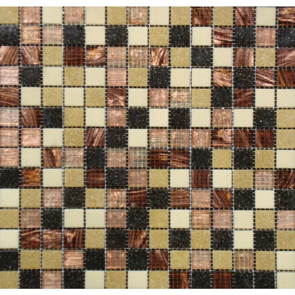 Msi Desert Sunset 12 In X 4 Mm Gl Mesh Mounted Mosaic Tile Opir Ds 4mm The Home Depot