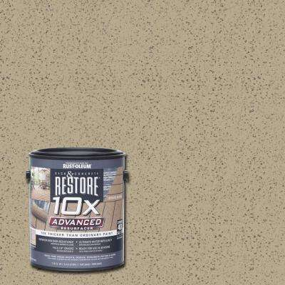 1 gal. 10X Advanced Fieldstone Deck and Concrete Resurfacer