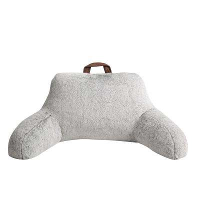 MHF Home Millburn Taupe Faux Fur Backrest